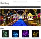 写真:BtoC向けのイルミネーション製品オンラインショップ、『illumishop.jp』をオープン